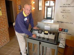 Hazen Schumacher at WUOM - Courtesy MichiganRadio.org